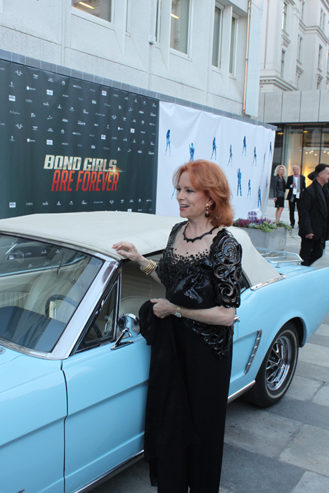 Bond Girls Forever Ford Mustang Thunderball