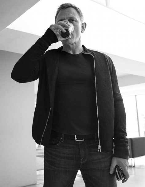 Daniel Craig Esquire UK photo by Greg Williams