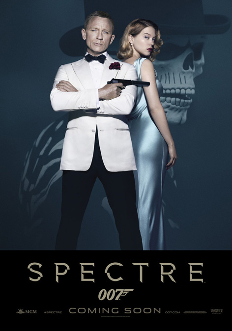 poster Spectre dinner suit and ghost dress