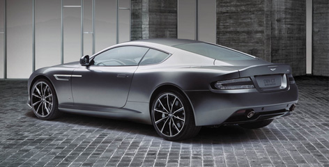 aston martin db9 gt bond edition back