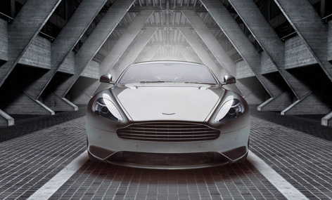 aston martin db9 gt bond edition front