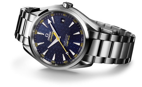 omega seamaster aqua terra james bond 15007