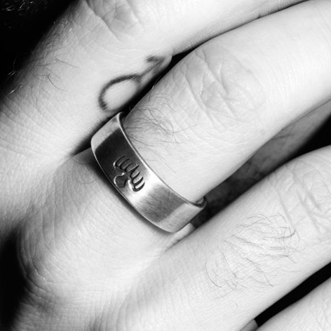 sam smith writings on the wall spectre ring