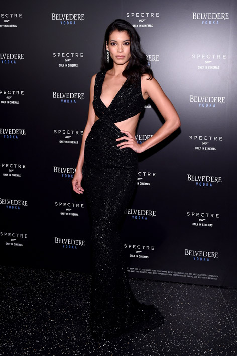 Belvedere New York Launch SPECTRE event freedom tower stephanie Sigman