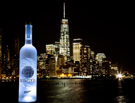 Belvedere New York Launch SPECTRE event freedom tower