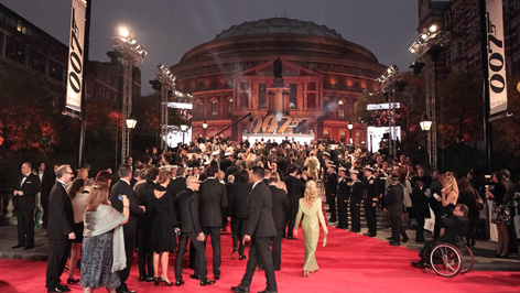royal albert hall skyfall premiere