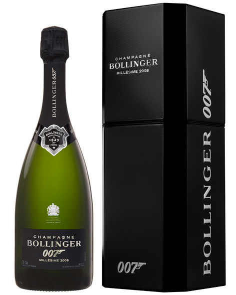 Bollinger 007 limited edition cuvee 2009