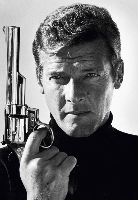 Roger Moore Terry ONeill