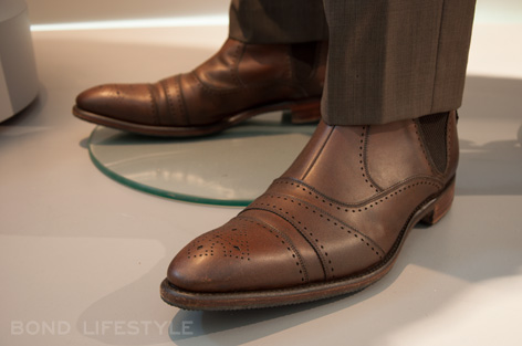 Silva brown leather shoes skyfall