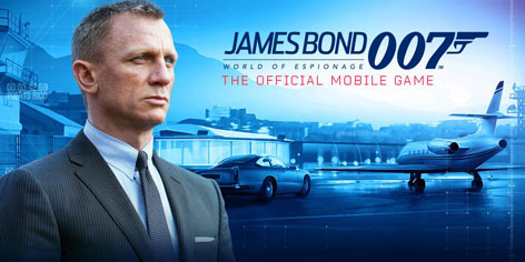james bond world of espionage mobile game 1