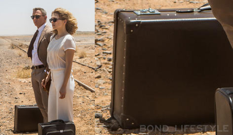 Globe-Trotter suitcase in SPECTRE
