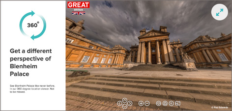 360 blenheim palace bond is great