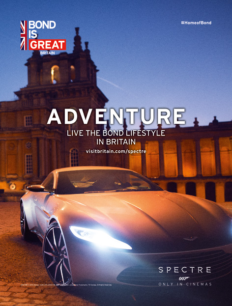 blenheim aston martin db10 bond is great