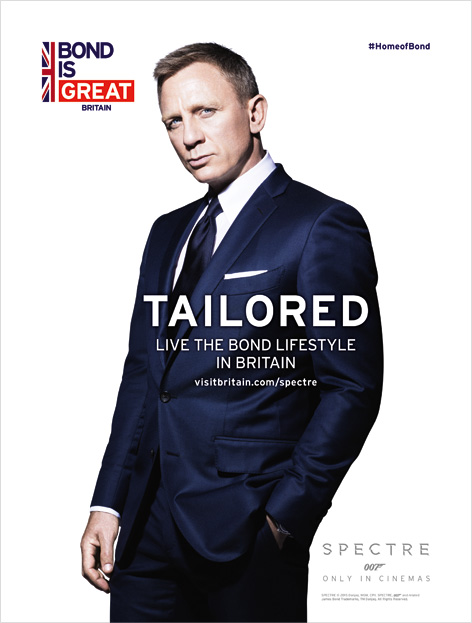bond is great britain daniel craig