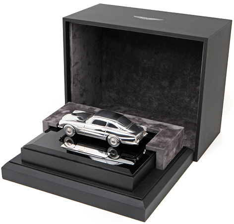 aston martin grant macdonald silver db5 model box