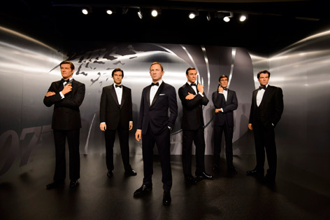 madame tussauds james bond london