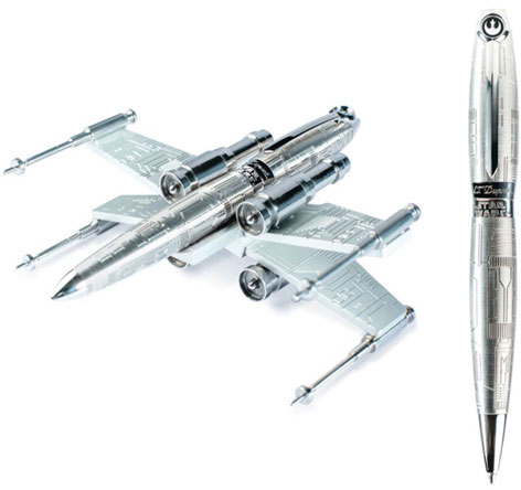 star wars x-wing fighter st dupont pen