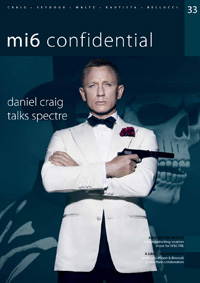 mi6 confidential 33 cover Spectre