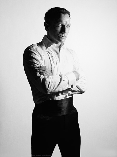 Daniel Craig Rankin SPECTRE National Portrait Gallery