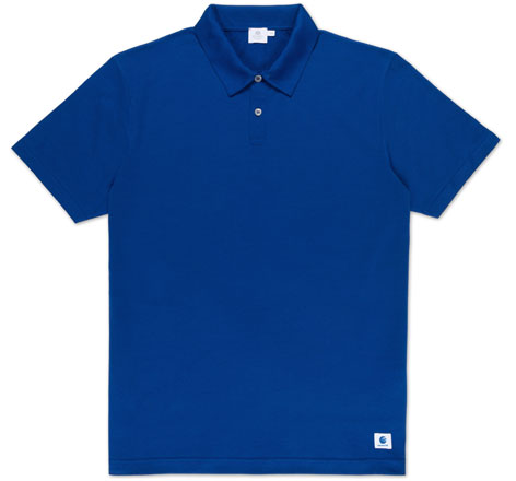 Sunspel Goldeneye resort polo shirt
