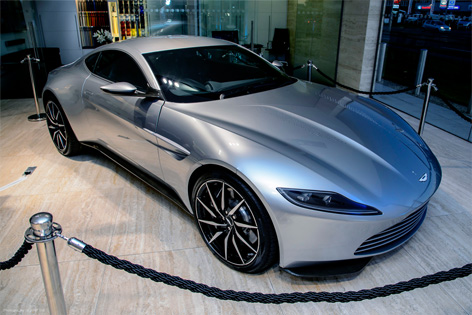aston martin db10 tour uk