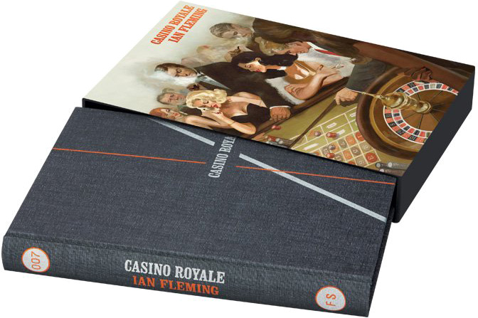 Casino Royale Folio Society cover