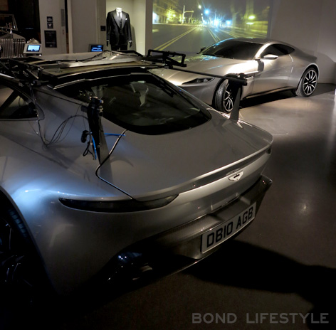 Bond in Motion Aston Martin DB10 stunt SPECTRE