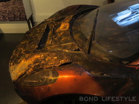 Bond in Motion Jaguar C-X75 stunt SPECTRE 2