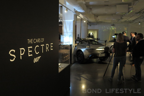 Bond In Motion cars of spectre