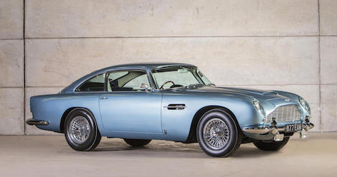aston martin db5 ron johnnie walker bonhams auction london