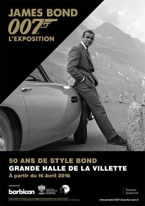designing 007 paris exhibition Grande Halle de la Villette