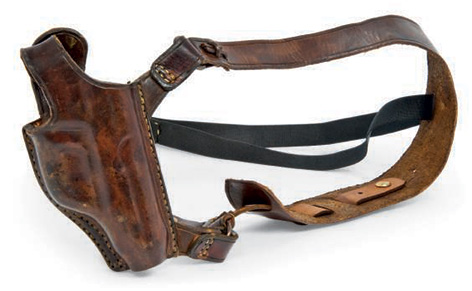 daniel craig shoulder holster leather brown spectre