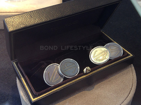 spectre tom ford cufflinks oval jb initials auction christies