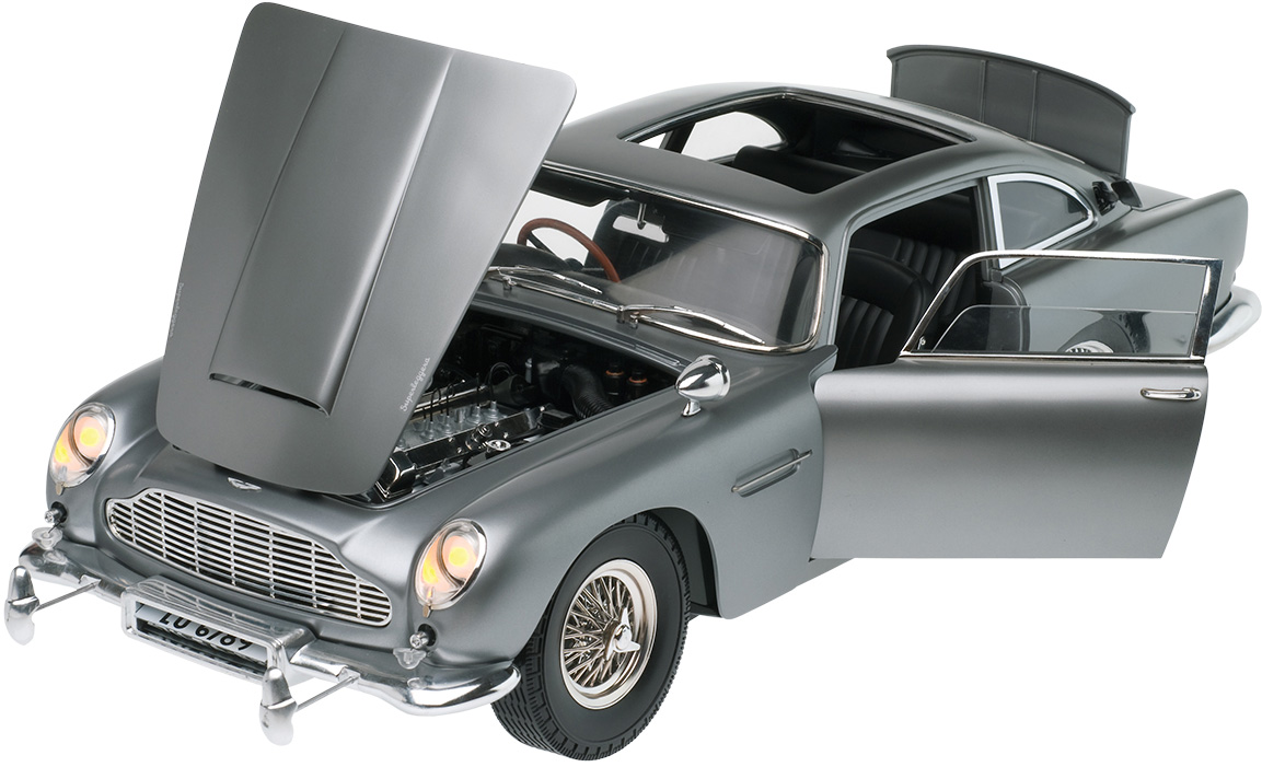 aston martin db5 1:8 scale replica now available as completed model