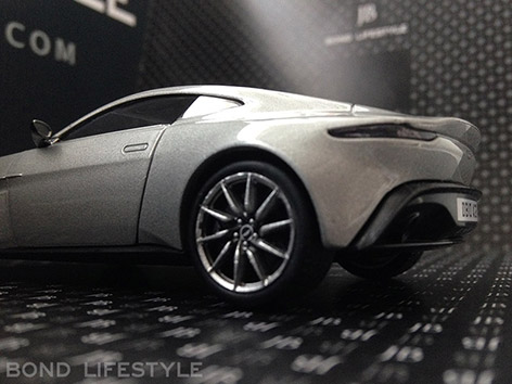 Corgi Aston Martin DB10 1 36 back