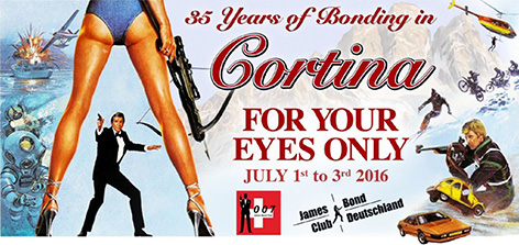 For Your Eyes Only - 35 years or Bonding in Cortina