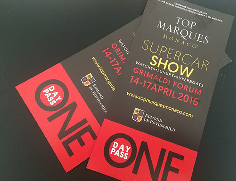 top marques tickets 2016