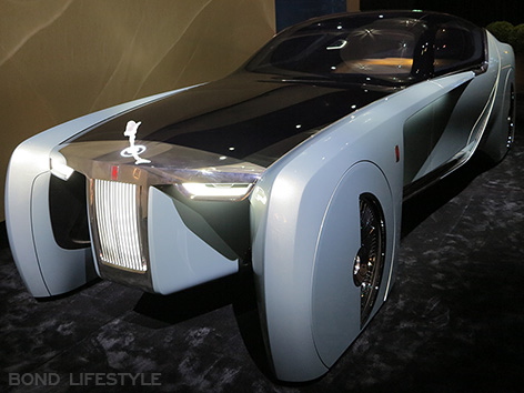 Rolls-Royce Vision Next 100 103EX Roundhouse front