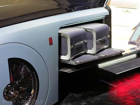 Rolls-Royce Vision Next 100 103EX Roundhouse luggage