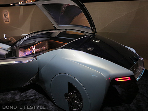 Rolls-Royce Vision Next 100 103EX Roundhouse screen interior