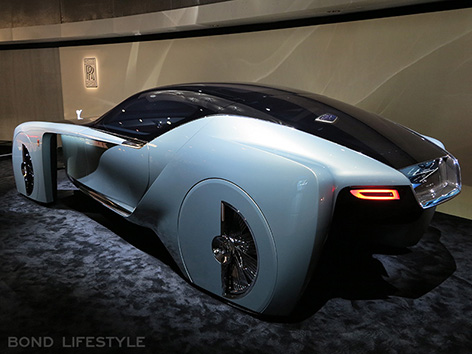 Rolls-Royce Vision Next 100 103EX Roundhouse rear