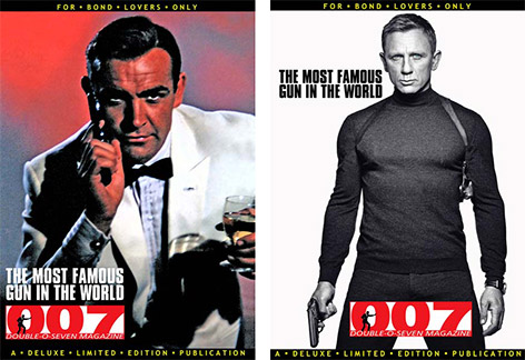 007 magazine sean connery daniel craig cover