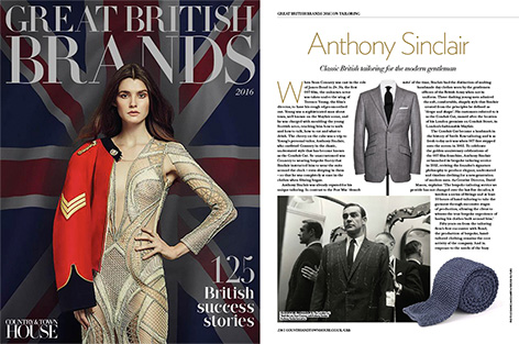 great british brands anthony sinclair