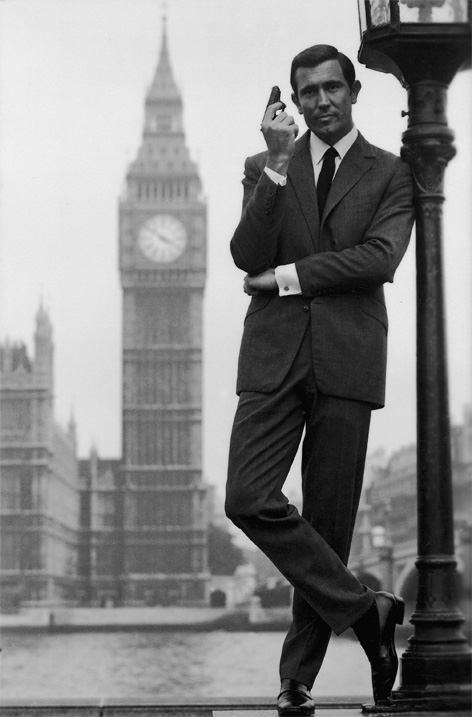George Lazenby London