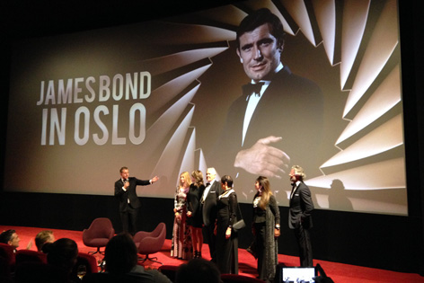 film screening on her majesty's secret service oslo george lazenby