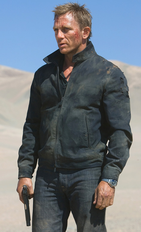quantum of solace james bond daniel craig tom ford harrington jacket