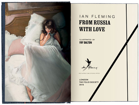 From Russia With Love Folio Society open