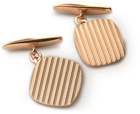 anthony sinclair deakin francis cufflinks rose gold