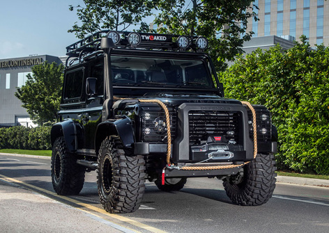 Land Rover Defender Tweaked