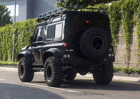 Land Rover Defender Tweaked SPECTRE Edition rear